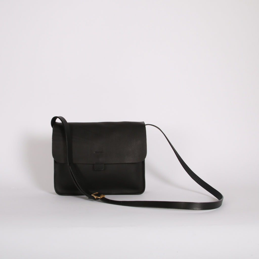Black Large Tab Bag