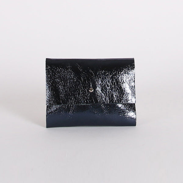 Midnight Patent Loux Wallet