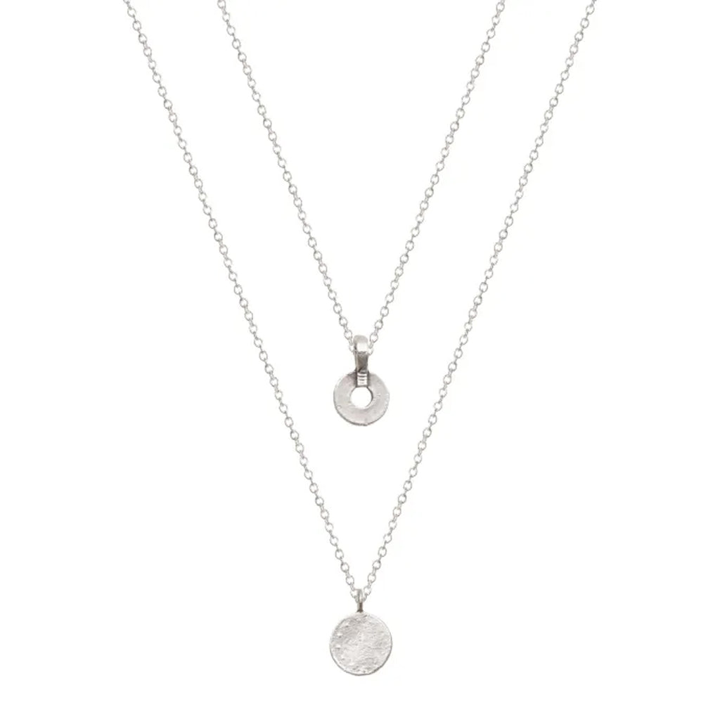 A Weathered Penny Silver Olivia Necklace
