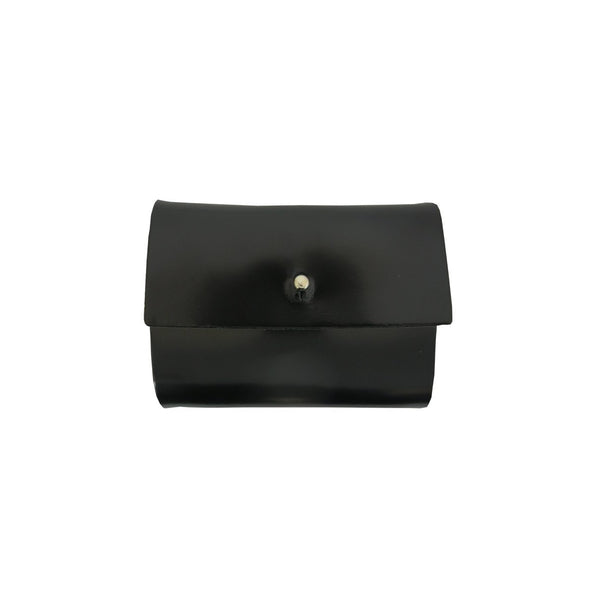 Black Patent Lou Wallet