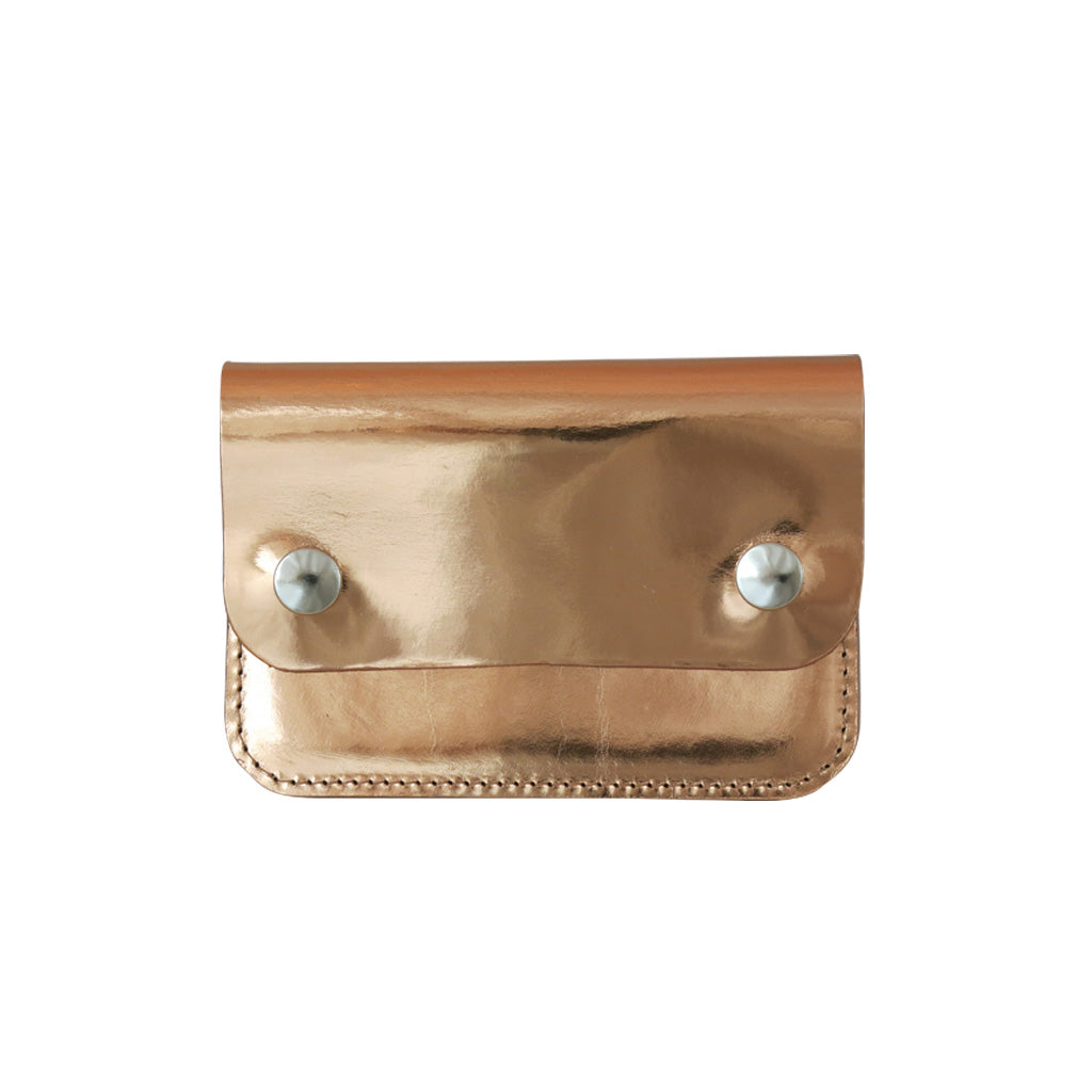 Rose Gold Mini Pop Purse