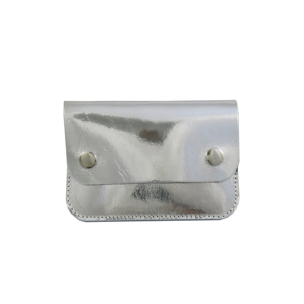 Silver Mini Pop Purse