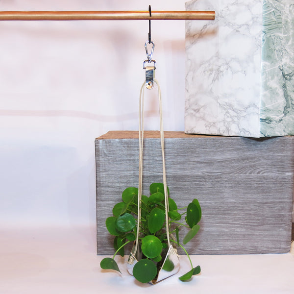 Silver Plant Hanger