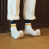 Rototo newschool black/yellow socks