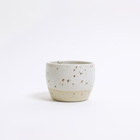 DOR & TAN Speckled White Tea Bowl