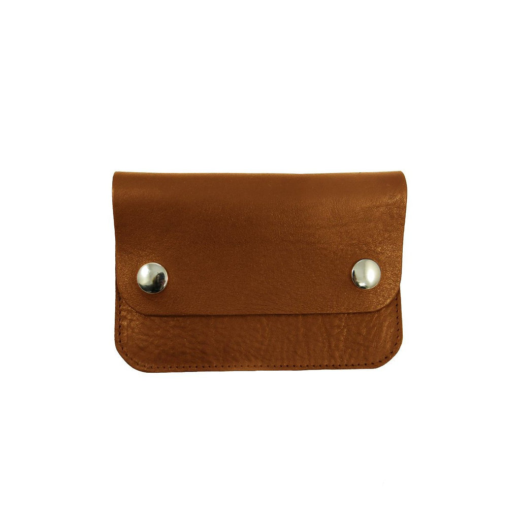 Tan Mini Pop Purse