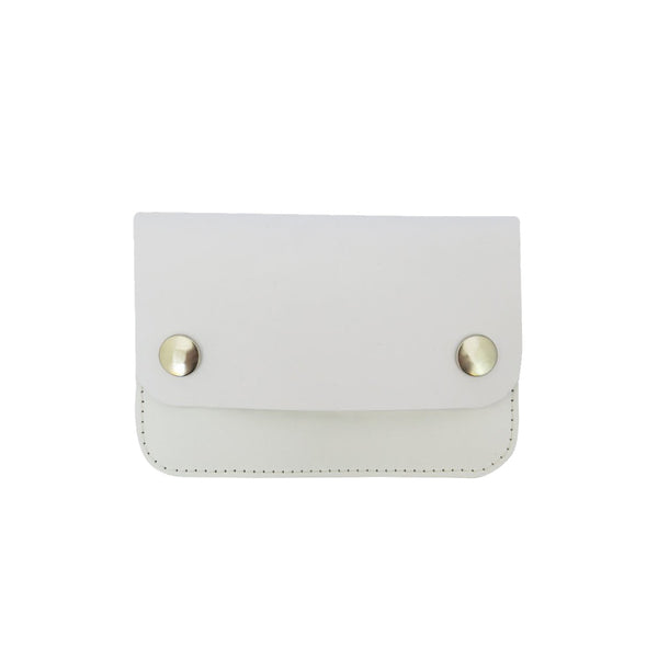 White Mini Pop Purse