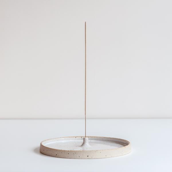 DOR & TAN Speckled Incense Holder
