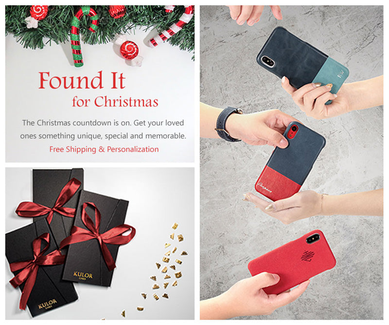 Winter Sale - Personalized iPhone and Samsung Leather Cases