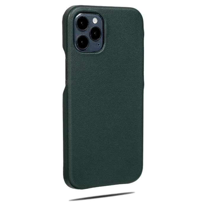 Forest Green iPhone 12 Pro Leather Case-Kulör Cases- Custom Apple Phone Case