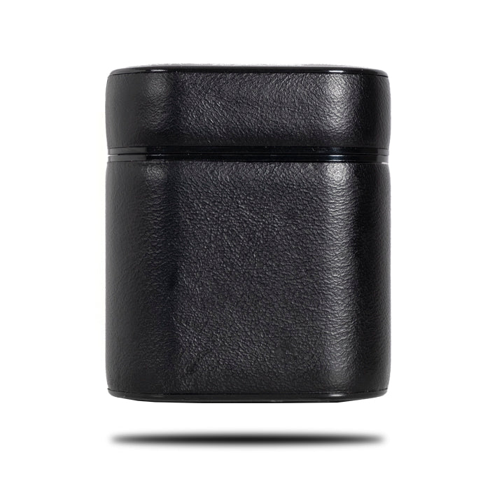 All Black AirPods Leather Case-AirPods Leather Case-Kulör Cases