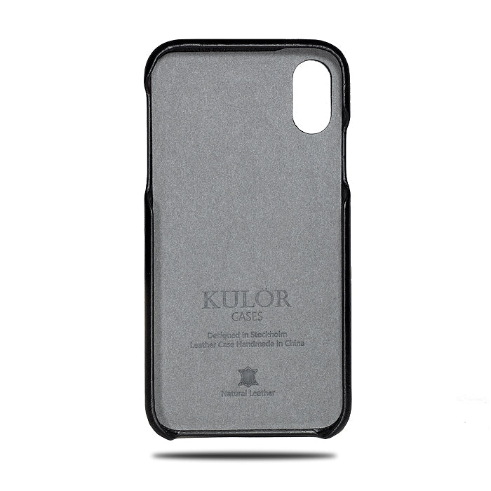 Personal Message by Laser Engraving - Purchase with Leather Phone Case-Kulör Cases