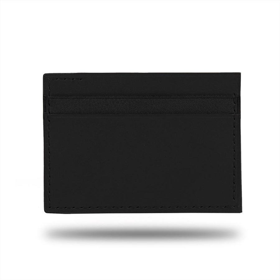 Black Leather Envelop Style Cardholder