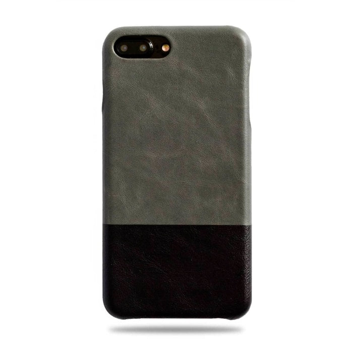 best service dc019 77637 Fossil Gray & Crow Black iPhone 8 Plus / iPhone 7 Plus Leather Case