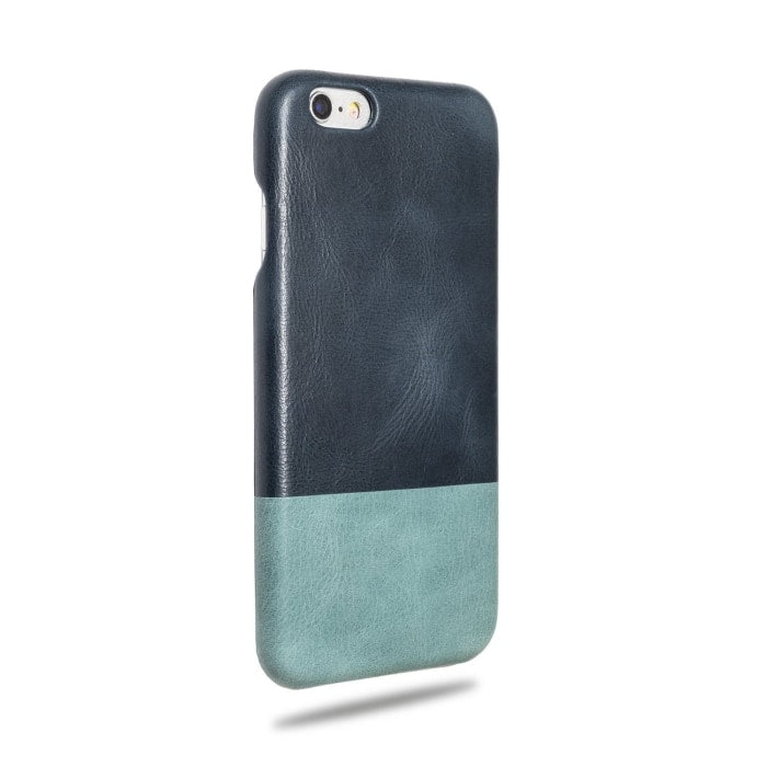 Buy personalized Peacock Blue & Ocean Blue iPhone 6 / iPhone 6s Leather Case (DISCONTINUED) online-Kulör Cases