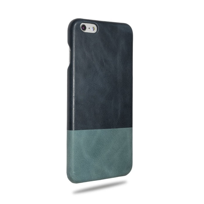 Kjøp personlig Peacock Blue & Ocean Blue iPhone 6 Plus / iPhone 6s Plus Lærveske online-Kulör Cases