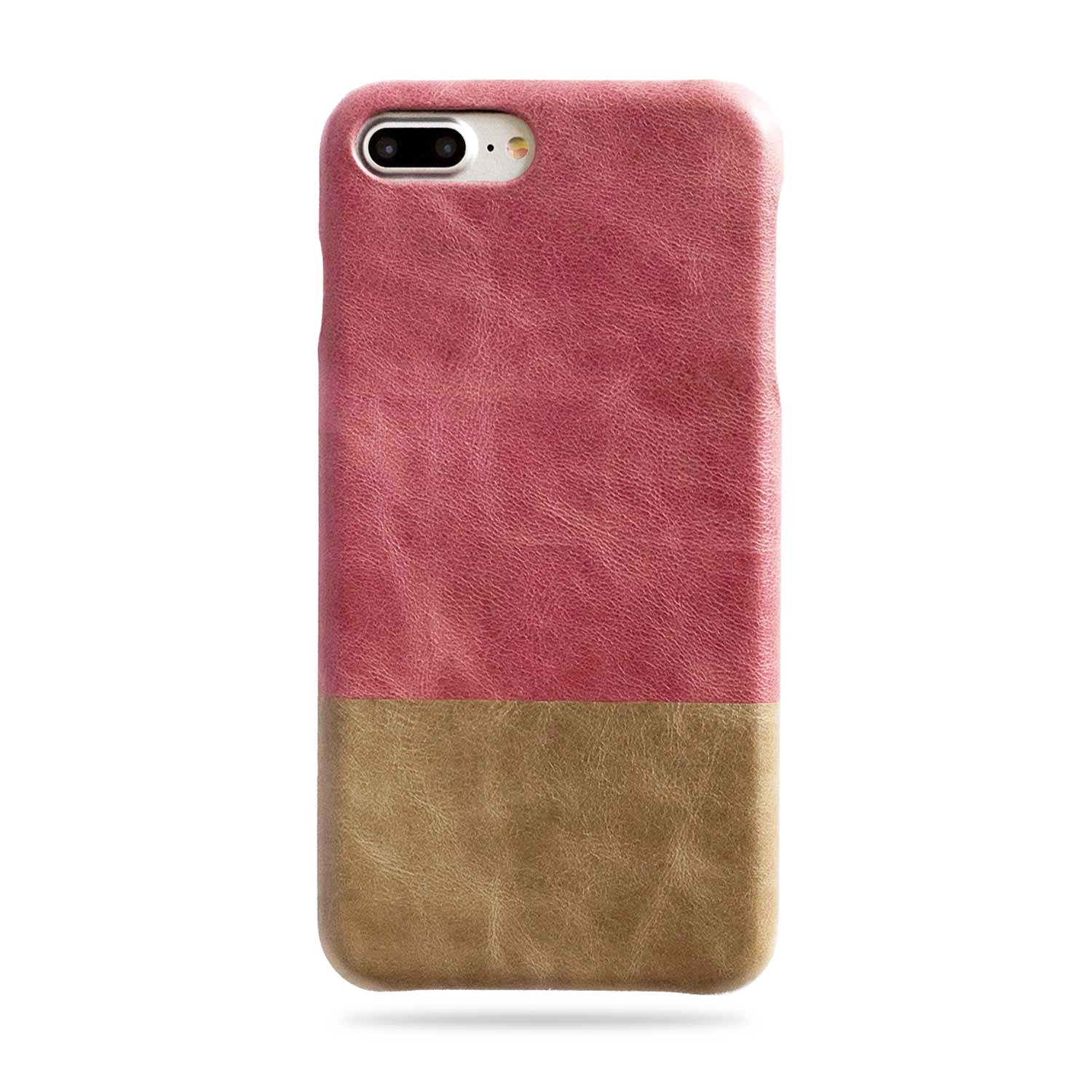 promo code 43307 a40ef Personalized Rosewood Pink iPhone 7 Plus / 8 Plus Leather Case ...