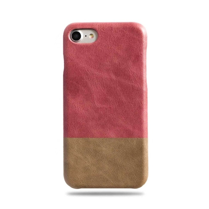 coque cuir iphone 7 rose