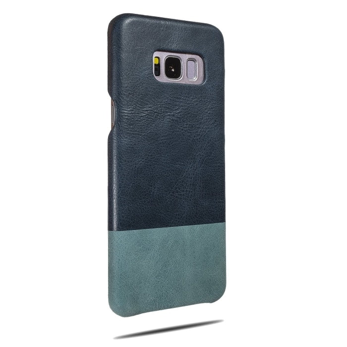 Peacock Blue & Ocean Blue Samsung Galaxy S8 Leather Case-Kulör Cases