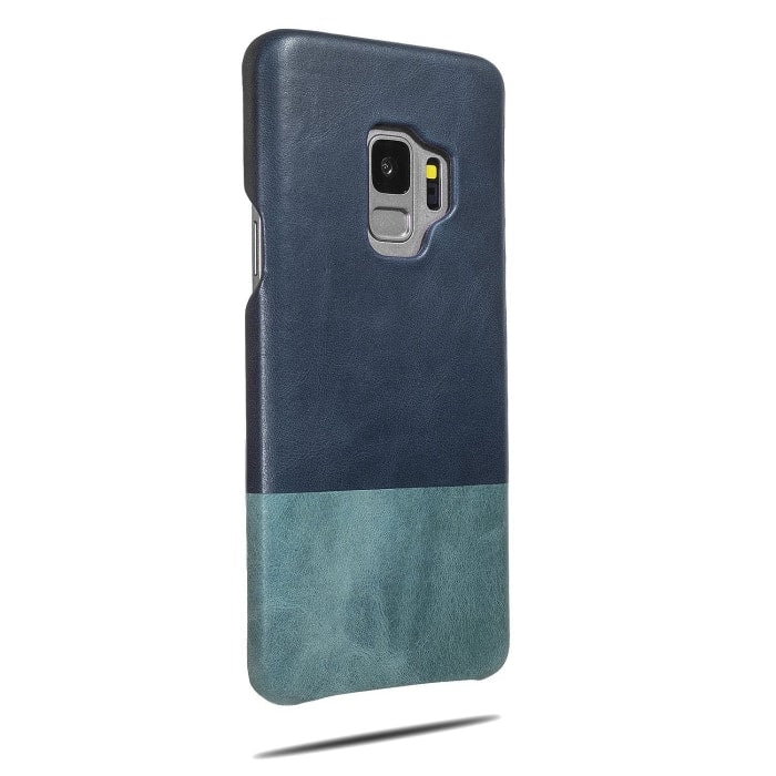 Buy personalized Peacock Blue & Ocean Blue Samsung Galaxy S9 Leather Case online-Kulör Cases