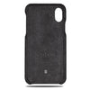 Dark Gray Micro Suede iPhone Xs / iPhone X Monogram Case-Kulör Cases