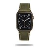 Olive Green Suede Leather Apple Watch Band & Stropp-Apple Watch Band-Kulör Cases
