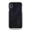 Alle Black iPhone Xs Max Lærveske-iPhone Xs Max Leather Snap-On Case-Kulör Cases
