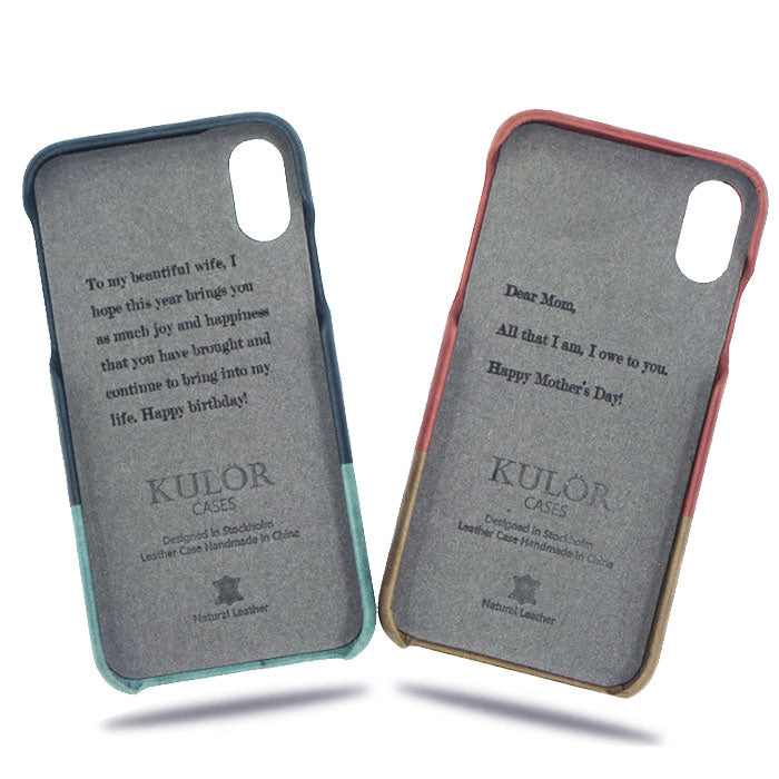 08be3b5fb Personal Message by Laser Engraving - Must Purchase with Leather Phone Case