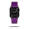 Violet Lilla Saffiano Lær Apple Watch Band & Strap-Apple Watch Band-Kulör Cases