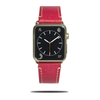 Raspberry Red Saffiano Leather Apple Watch Band & Stropp-Apple Watch Band-Kulör Cases
