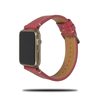 Raspberry Red Saffiano Leather Apple Watch Band & Strap-Apple Watch Band-Kulör Cases