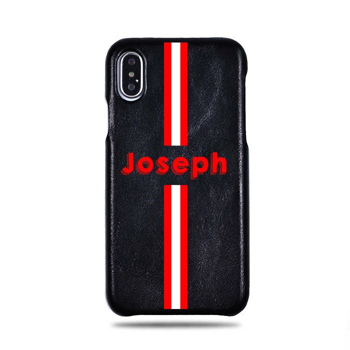 Personalized & Monogrammed iPhone Xs Leather Cases | Kulör Cases