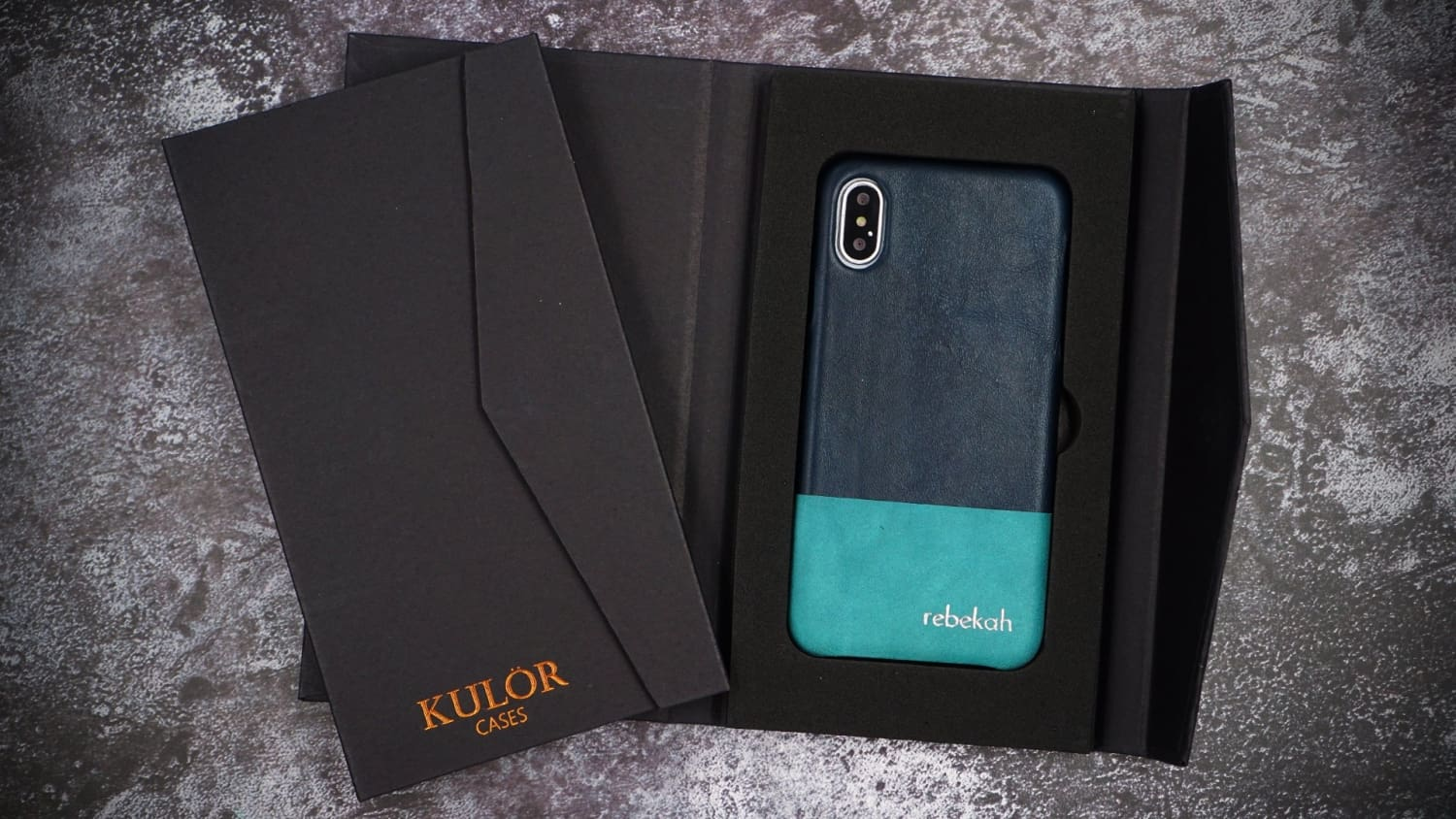 Kulör Cases iPhone Case Gift Packaging