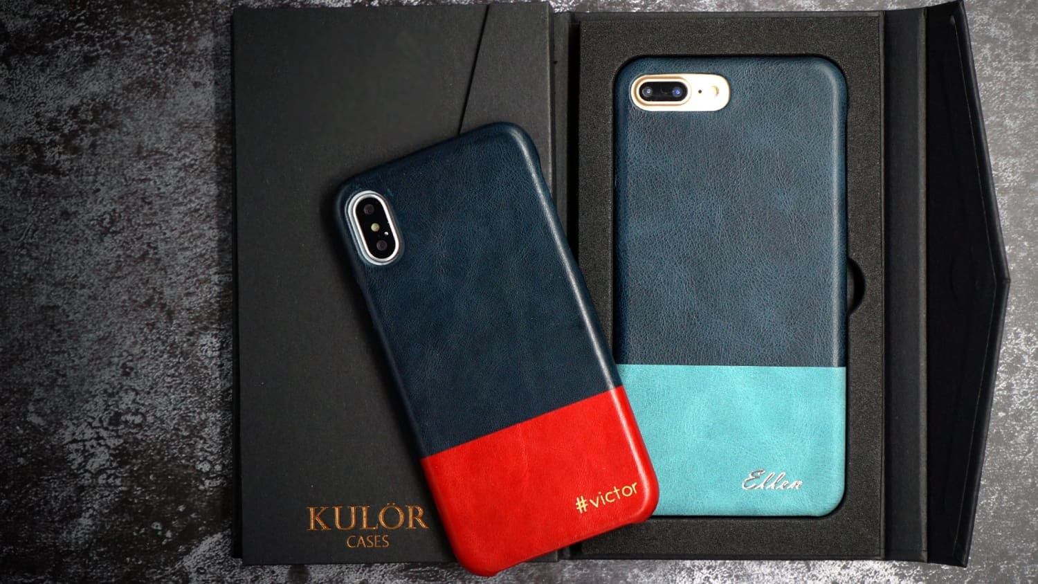 Color Combo iPhone Cases