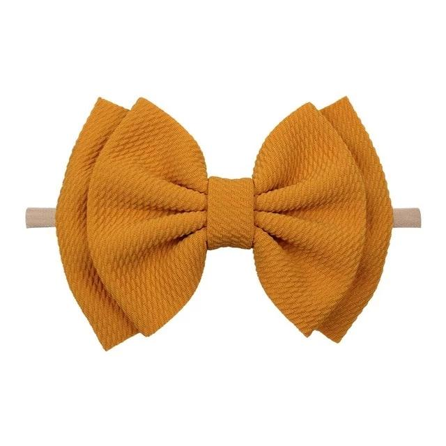 Waffle Bows - 25 Colors!