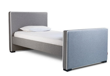 Dorma modern twin or full bed with trundle