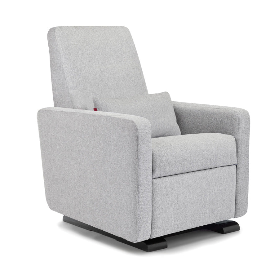 Suede Look Fauteuil.Swivel Glider Recliner Grano Chair By Monte Design Nursery Gliders
