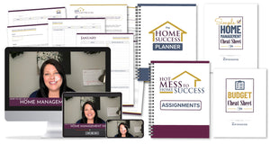 Hot Mess to Home Success (Online Course- Full Program- Plus Bonuses)