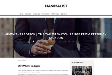 Manimalist - Tailor Watch Range Review