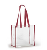 Clear Stadium Tote - Blank
