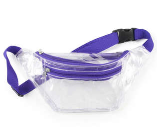 Clear Sling Pack in Team Colors