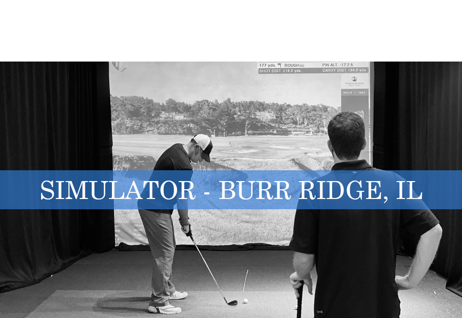 Golf Simulator Reservation - Burr Ridge, Illinois