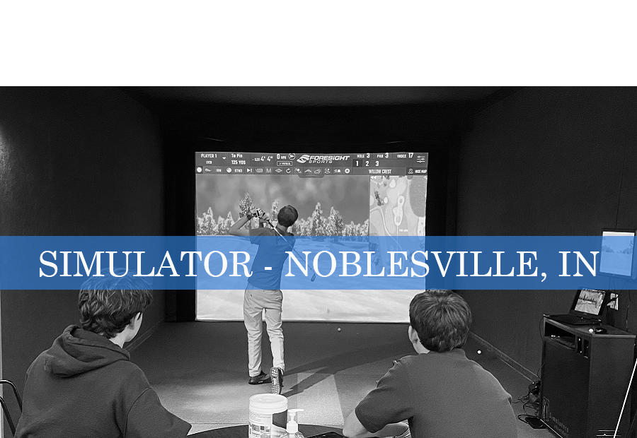 Golf Simulator Reservation - Noblesville, Indiana