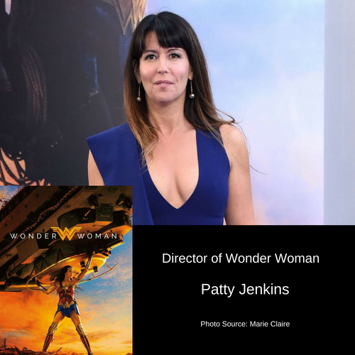 Director Patty Jenkins of