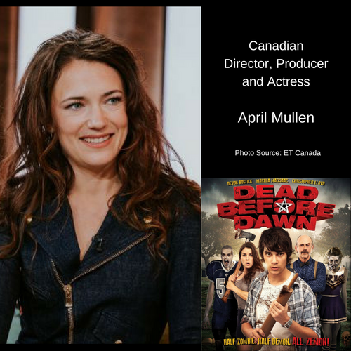 Canadian Director April Mullen