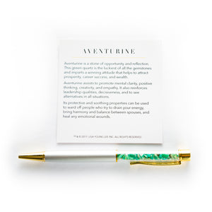 Aventurine Supercharged Reiki Pen
