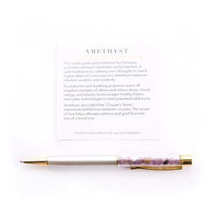 Amethyst Supercharged Reiki Pen