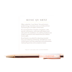 Rose Quartz Supercharged Reiki Pen