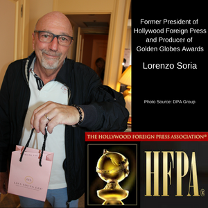 Lorenzo Soria, Producer of 72nd Golden Globes Award Show and Former President of Hollywood Foreign Press