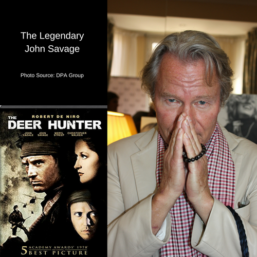 Legendary actor John Savage of